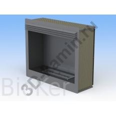 Очаг Стандартный 50-80 см Топливный блок BioKer 30 см