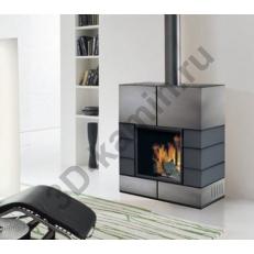 Облицовка EdilKamin Quadro- Квадро стальная облицовка серого цвета
