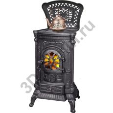 Чугунная печь-камин LK INGRID