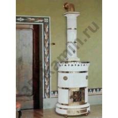 Печь камин Sergio Leoni Maria Luigia - Мария Луиджия круглая печь для загородного дома
