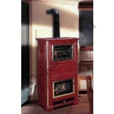 Печь камин Sergio Leoni Sissy con Forno - пристенная печка с духовкой
