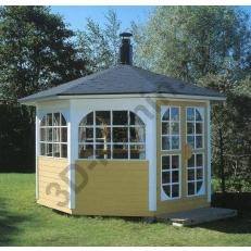 Садовый домик PARADISE 8-K + гриль JTG/2 (Парадиз)