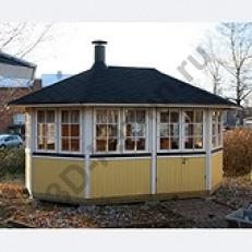 Садовый домик VILLA ALBATROS (12м) + гриль JTG/1