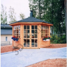 Садовый домик SATULINNA 8-K + гриль JTG/2 (Сатулинна)