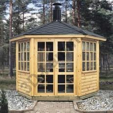 Садовый домик SATULINNA 6-K + гриль JTG/1 (Сатулинна)